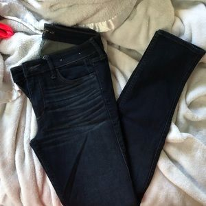 Abercrombie and Fitch dark wash skinny jeans